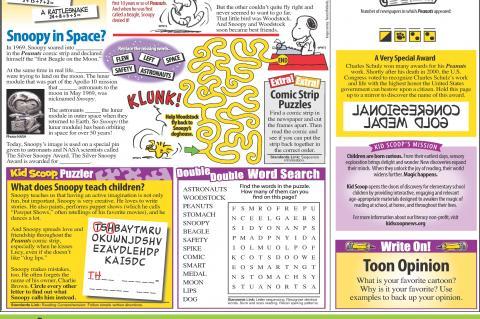 Newspaper Page - Kid Scoop